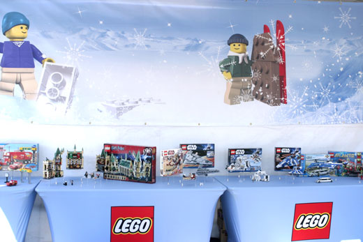 LEGO Winter Wonderland at the Bentonville in Toyland First Friday Event