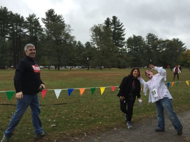 Creatacor at the 2015 rUNDEAD charity run for the Special Olympics of New York