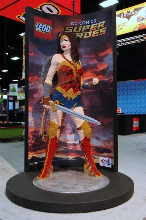 Wonder Woman - LEGO San Diego Comic-Con 2016