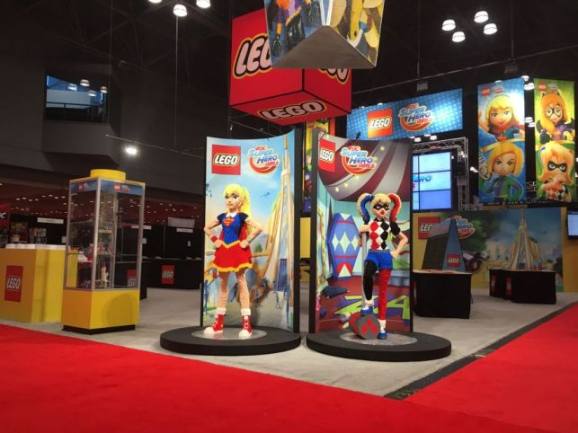 LEGO At NY Comic Con 2016