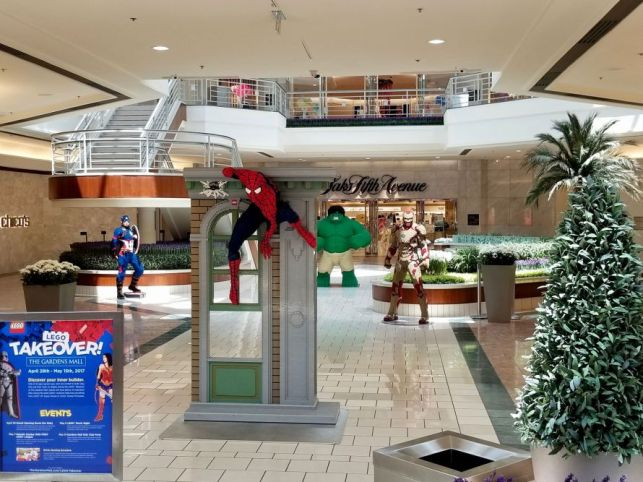 LEGO® Takeover! at The Gardens Mall in Palm Beach, Florida.