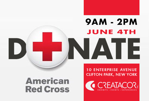 Red Cross Blood Drive at Creatacor