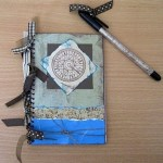 Altered Notebook & Pen Gift Set