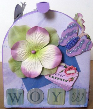 Altered Mailbox - Front View - Create With Joy