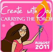 Amber Ink Torchbearer Badge - August 2011