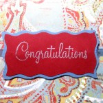 Congratulations Card - Mommy Five O