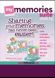 My Memories Suite Version 2 Software