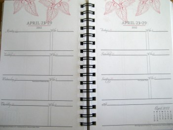 Franklin Covey Planner - Botanika Interior