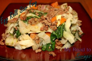 Egg Roll Stir Fry - My Road To Savings