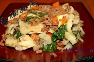 Egg Roll Stir Fry - My Road To Savings