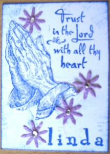 Trust In The Lord ATC