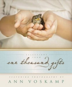 Selections From One Thousand Gifts - Ann Voskamp