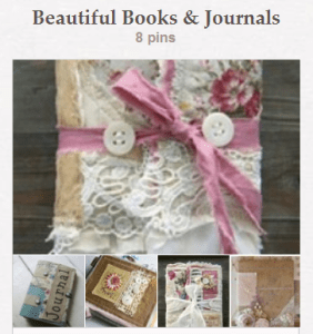 Pinterest - Beautiful Books & Journals Board - CreateWithJoy1