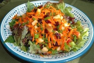 Tangy Carrot-Apple Salad - Debbie - Easy Natural Food