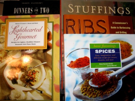 Assorted Cookbooks 1