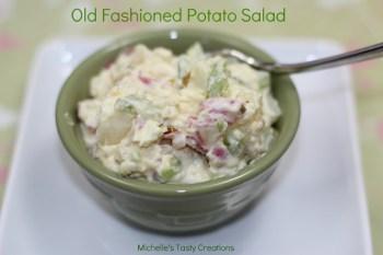 Michelle's Old Fashioned Potato Salad