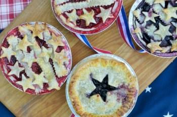 Summer Berry Pies - The Urban Baker