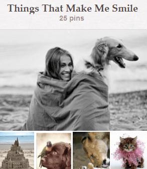 Things That Make Me Smile Pinterest Board