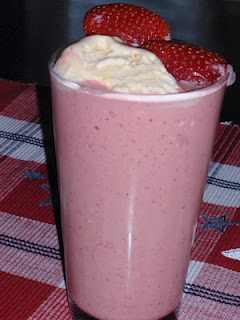 Strawberry Chessecake Milkshake