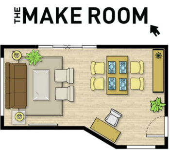 The Make Room Planner