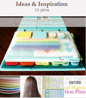 Ideas & Inspiration Pinterest Board