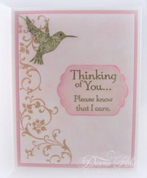 Donna Heber - Sympathy Card