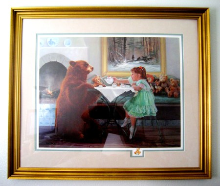 My Tea Bear by Lynn Lupetti