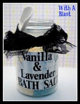 Vanilla & Lavendar Bath Salts