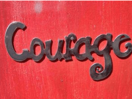 Courage - Widowed Blog Hop