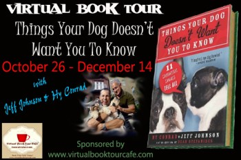 Things Your Dog Doesn't Want You To Know Book Tour Banner