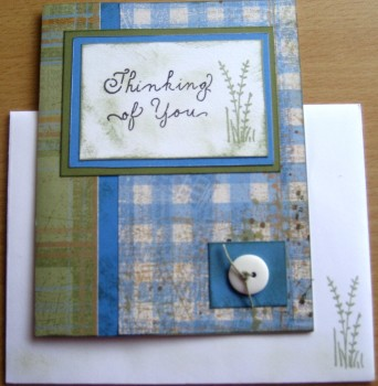 Thinking Of You Card & Envelope