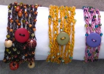 Hemp Bracelet Tutorial - Rena KLingenberg