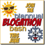 Biannual Summer Blogathon Bash - June 2013
