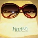 Firmoo Burgundy with Cloth