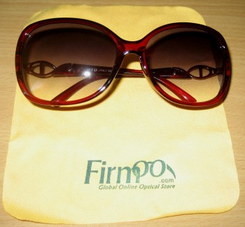 Firmoo Burgundy with Cloth