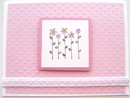 Flower Power Card - Front