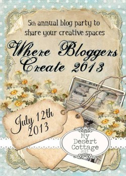 Where Bloggers Create 2013