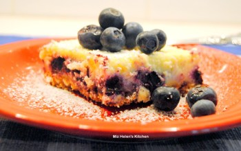 Creamy Blueberry Bars