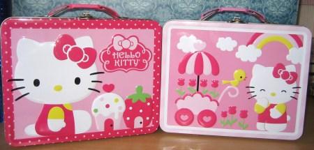 Hello Kitty Tins