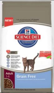 Hills Science Diet Grain Free Cat Food
