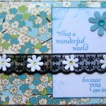 What A Wonderful World Card
