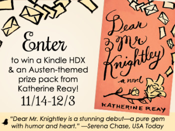 Dear Mr Knightley Giveaway
