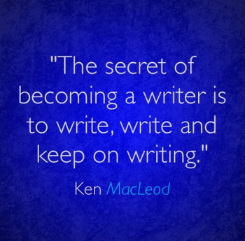 The Secret Of Writing Quote