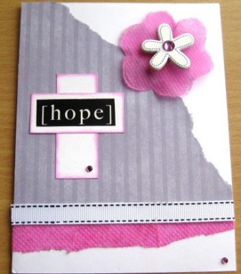 Hope Card with Smart-Fab
