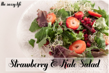 Strawberry & Kale Salad