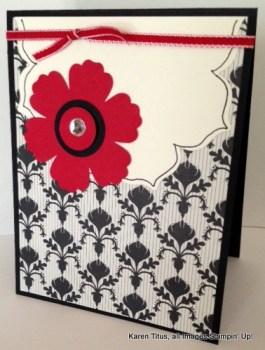 Floral Framelits Card