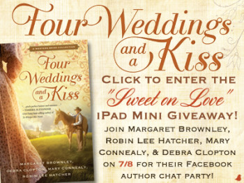 Four Weddings And A Kiss Giveaway