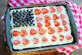 Patriotic Picnic Cake