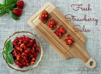 Fresh Strawberry Salsa