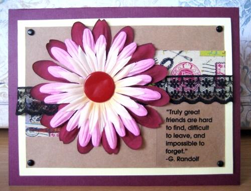 Friendship Blooms Card